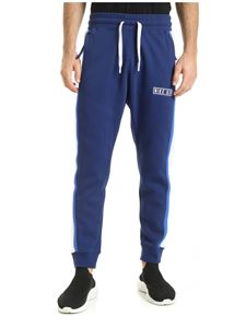 Nike - Contrasting bands pants in blue