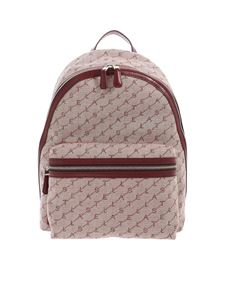 Stella McCartney - Falabella GO Monogram backpack in bordeaux