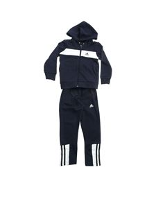Adidas - Logo tracksuit in blue