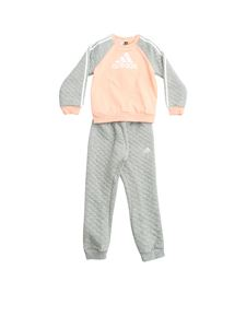 Adidas - Wars tracksuit in grey and salmon pink color