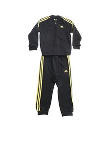Adidas - Holiday tracksuit in black and golden