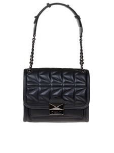 Karl Lagerfeld - K Kuilted bag in black