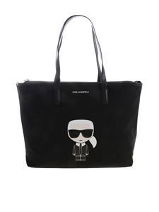 Karl Lagerfeld - Karl Ikonik bag in black