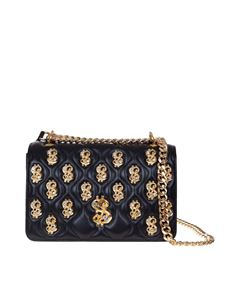 Moschino - Dollar Studs shoulder bag in black