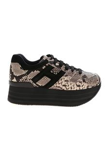 Hogan - Maxi H283 sneakers in reptile print