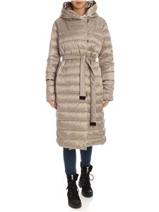 Max Mara - The Cube Novelu down jacket in beige