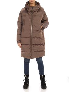 Max Mara - Max Mara The Cube Sportl down jacket in brown