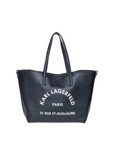 Karl Lagerfeld - Rue St Guillaume Tote bag in black