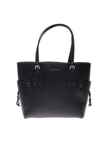 Michael Kors - Voyager Tote small bag in black leather