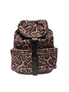 Michael Kors - Perry Large backpack in animal print