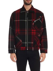 Vivienne Westwood Anglomania - Factory jacket red and black
