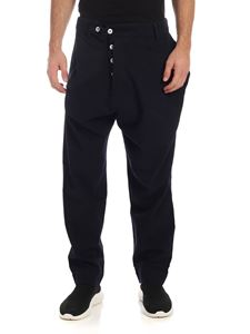 Vivienne Westwood Anglomania - Alcoholic trousers in blue