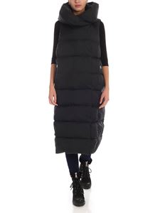 ADD - Sleeveless down jacket in black