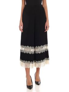Twin-Set - Palazzo pants with lace detail