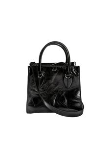 Tod's - Leather Shopping bag in black