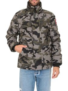 Canada Goose - Forester down jacket in green and grey