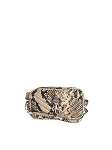 Rebecca Minkoff - Camera Belt with reptile print