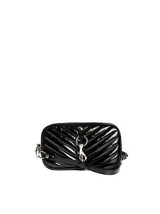 Rebecca Minkoff - Camera belt quilted effect in black