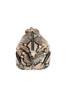 Rebecca Minkoff - Mini Julian backpack with reptile print