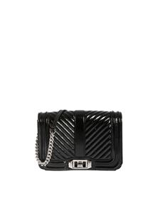 Rebecca Minkoff - Love Small shoulder bag in black