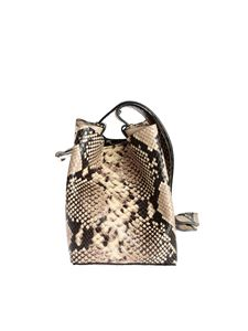 Rebecca Minkoff - Kate Mini bucket bag in python print