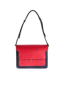 Marni - Trunk bag in purple and red