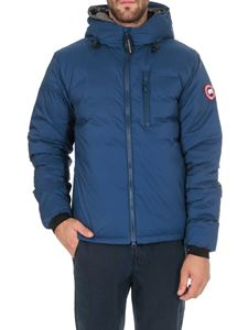 Canada Goose - Lodge Hoody down jacket in blue