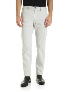 Paul & Shark - Stretch trousers in light grey color