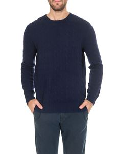 POLO Ralph Lauren - Knitted cashmere pullover in blue