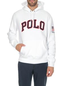 POLO Ralph Lauren - White sweatshirt with logo on the front