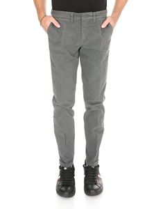 Fay - Chino trousers in grey stretch cotton