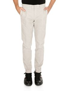 Fay - Chino trousers in beige stretch cotton