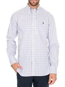 POLO Ralph Lauren - Check pattern shirt in blue red and white