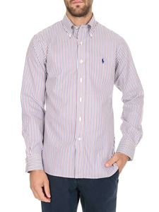 POLO Ralph Lauren - Checked shirt in navy blue and red