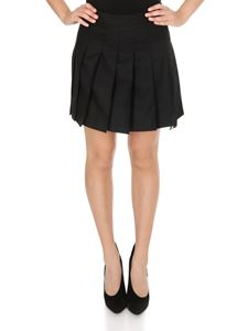 Thom Browne - Short pleated skirt in black