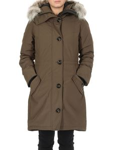 Canada Goose - Ladies Rossclair down jacket in army green