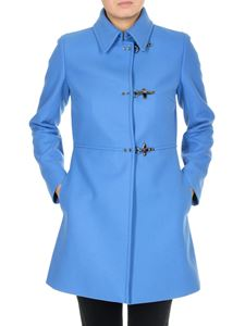 Fay - 3 Ganci Fay coat in pale blue color