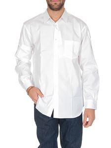 Comme Des Garçons Shirt  - Shirt in white with pockets