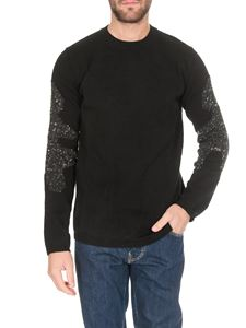 Comme Des Garçons Shirt  - Sweater in black with inserts on the sleeves