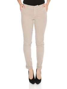 Fay - Chino trousers in beige with Fay label
