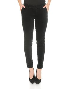 Fay - Chino trousers in black with Fay label