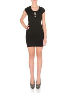 Balmain - Golden buttons dress in black