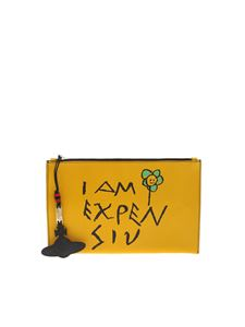 Vivienne Westwood  - Hampstead clutch in yellow