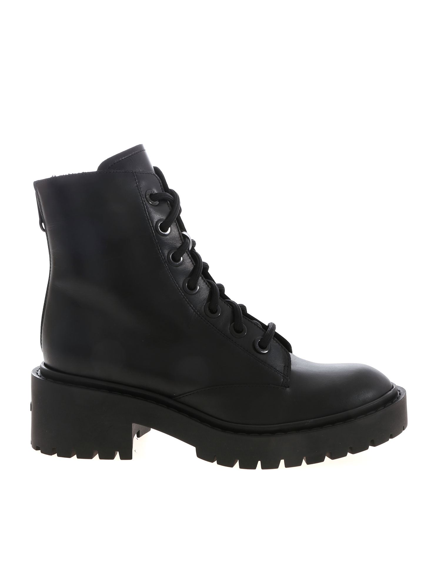 Kenzo 50mm Pike Lace-up Leather Combat