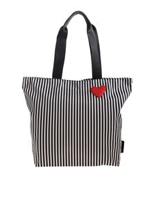 Lulu Guinness - Bea tote bag in black and white