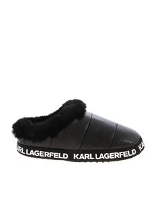 Karl Lagerfeld - Arktik slippers in black
