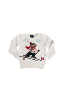 POLO Ralph Lauren - Ski Bear pullover in white