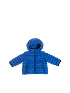POLO Ralph Lauren - Foldable quilted down jacket in blue