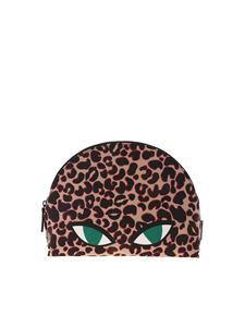 Lulu Guinness - Clutch Wild Cat in animal print