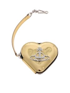 Vivienne Westwood  - Johanna coin purse in gold color
